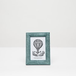 "Oxford Photograph frame, 4 x 6"", turquoise"