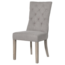Dining chair, 103 x 52 x 65cm, Grey Button