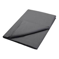 200TC Plain Dye King size flat sheet, L270 x W280cm, graphite