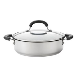 Total Casserole, 24cm - 2.8 litre, stainless steel