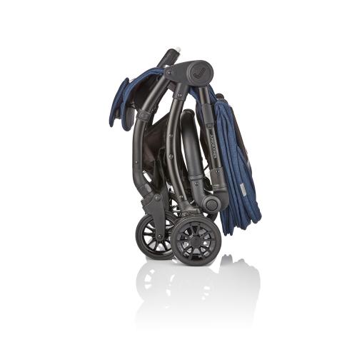 J-cub Stroller, Insignia navy, H105 x W50 x L69cm, Blue