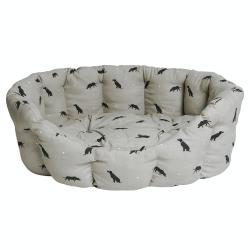 Labrador Pet bed - large, 82 x 61.5 x 31cm, Removable Cushion