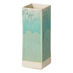 Madeira Rectangular vase, 20cm, blue