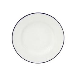 Beja Set of 6 side plates, 23cm, white