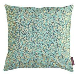Garland Cushion, 45 x 45cm, verdigris/mint