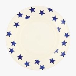 Blue Star Dinner plate, 27.5cm