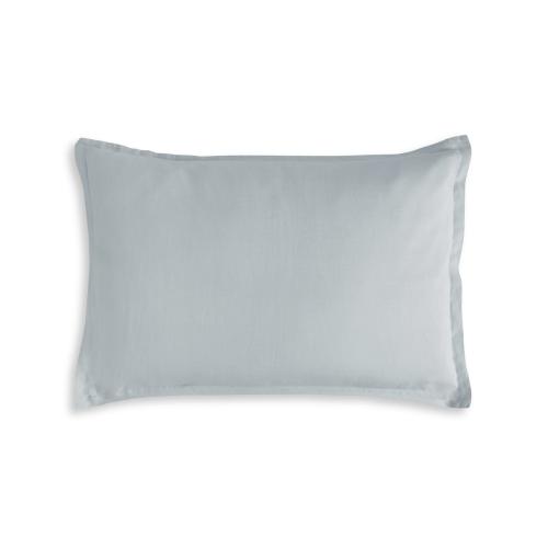 King size Oxford pillowcase, 50 x 90cm, Moustier Duck Egg