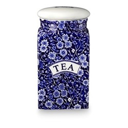 Calico Storage jar - Tea, blue