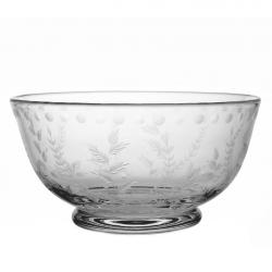 Fern Bowl, D30.5cm, Crystal