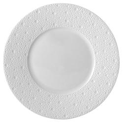 Ecume Set of 6 salad plates, 21cm, white