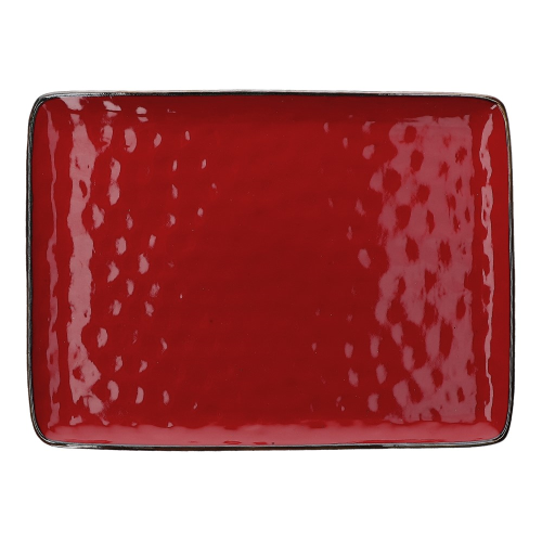 Concerto Rectangular tray, L36 x W26.5cm, Fire Red