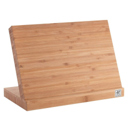 Magnetic knife block, bamboo
