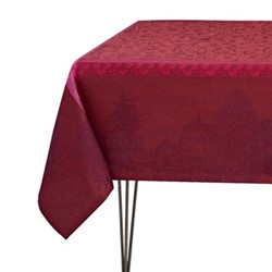 Symphonie Baroque Tablecloth, 120 x 120cm, maroon