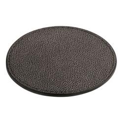 Tao Round coaster, 9.5cm, titanium