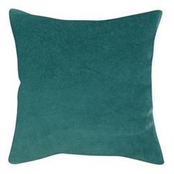 Elise Velvet Cushion cover, 45 x 45cm, green/grey