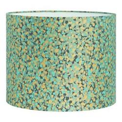 Garland Drum lampshade, W31 x H24cm, verdigris/mint