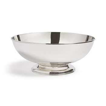 Audley Footed bowl, silver plated