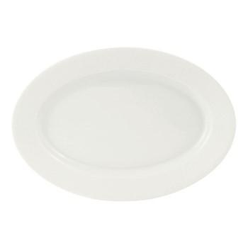Seychelles Oval dish, 35 x 25cm, white