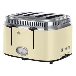 Retro - 21692 Toaster, 4 slice, Cream