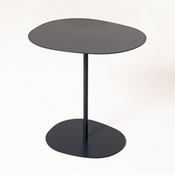 Lily by Lucy Kurrein Low side table, W46 x D46 x H47cm, navy