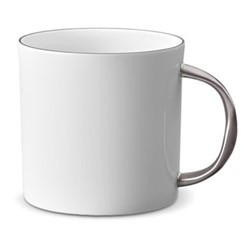 Corde Mug, 35cl, platinum