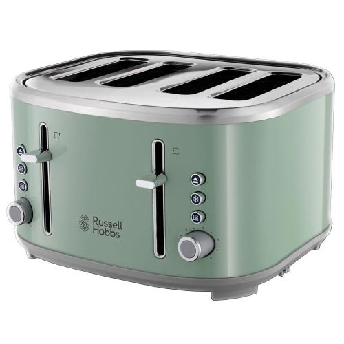 Bubble 24414 4 slice toaster, 1670 W, Green