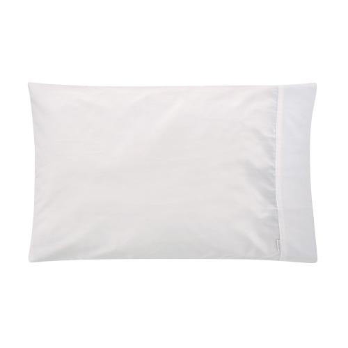 Tencel Pair of standard pillowcases, 50 x 75cm, white