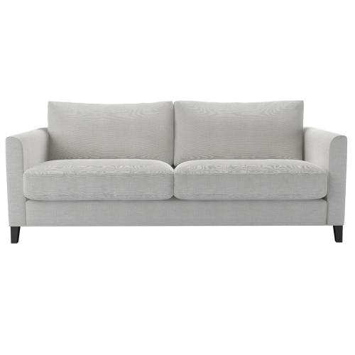 Izzy 3 seater sofa, H87 x W200 x D97cm, Pumice