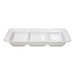Astoria Triple tray, 33cm, White