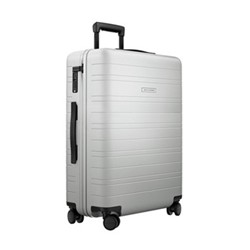 H6 Medium check-In trolley suitcase, W46 x H64 x D24cm, light quartz grey