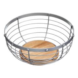 Industrial Kitchen Fruit basket, 28 x 12cm, Wire