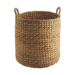 Water hyacinth basket D44 x H53cm