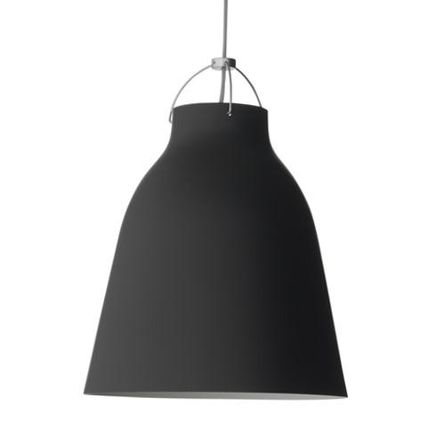 Caravaggio-P3 Pendant lamp, H51 x Dia40cm, Matt Black