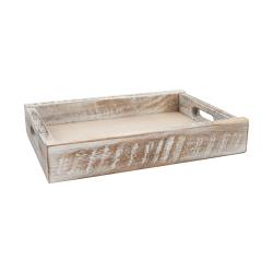 Nordic Medium crate, 31.4 x 22.4 x 5.5cm, white