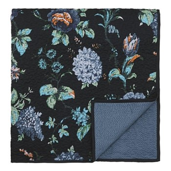 Everlasting Bloom Throw, 260 x 265cm, indigo