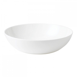 White Serving bowl, 30cm, Plain