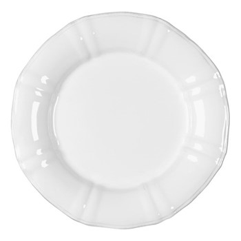 Village Set of 6 dinner plates, 28cm, White