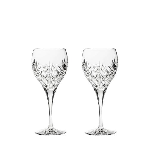 Kintyre Pair of large wine glasses, H21cm