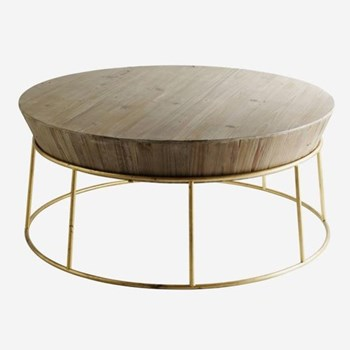 Balzac Coffee table, H43 x D100cm
