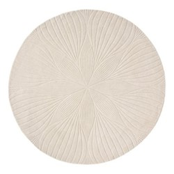 Folia Rug, D150cm, stone