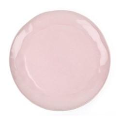 Huge serving platter, D37 x H3cm, pale pink