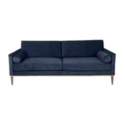 Club Couch, H82 x D57 x L205cm, navy