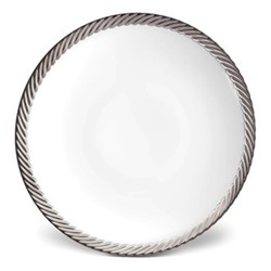 Corde Bread & butter plate, 17cm, platinum