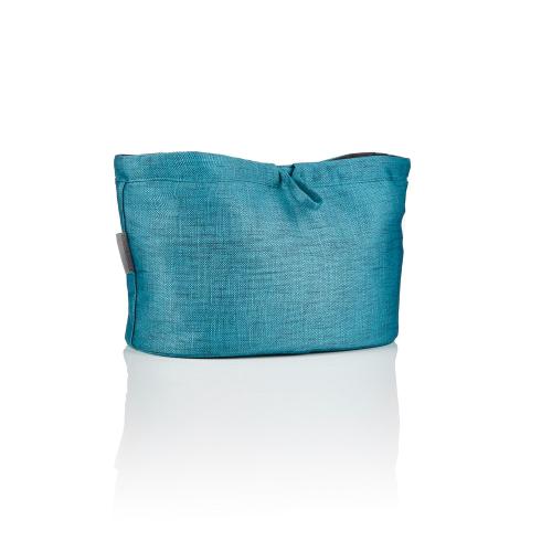 Essentials pouch, Caribbean blue, H20 x W32 x L20cm, Blue