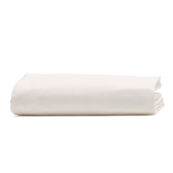 Classic Bedding King size fitted sheet, 150 x 200cm, snow