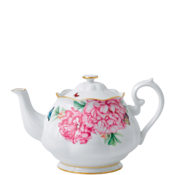 Miranda Kerr Friendship Small teapot, 45cl, White With Pink