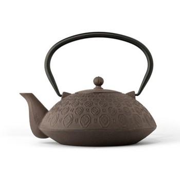 Yinan Teapot, 1.1 Litres, brown/black