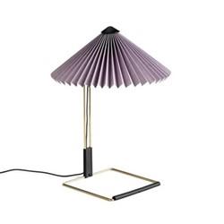 Matin by Inga Sempé Table lamp, H38 x W30 x D30cm, lavender
