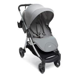 Armadillo Folding pushchair, H69 x D55 x L35cm, Steel Grey