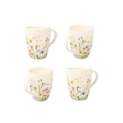 Set of 4 mugs W12 x H10cm - 30cl